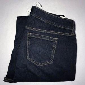 NWT Torrid Dark Wash Relaxed Bootcut Jeans 16R 32